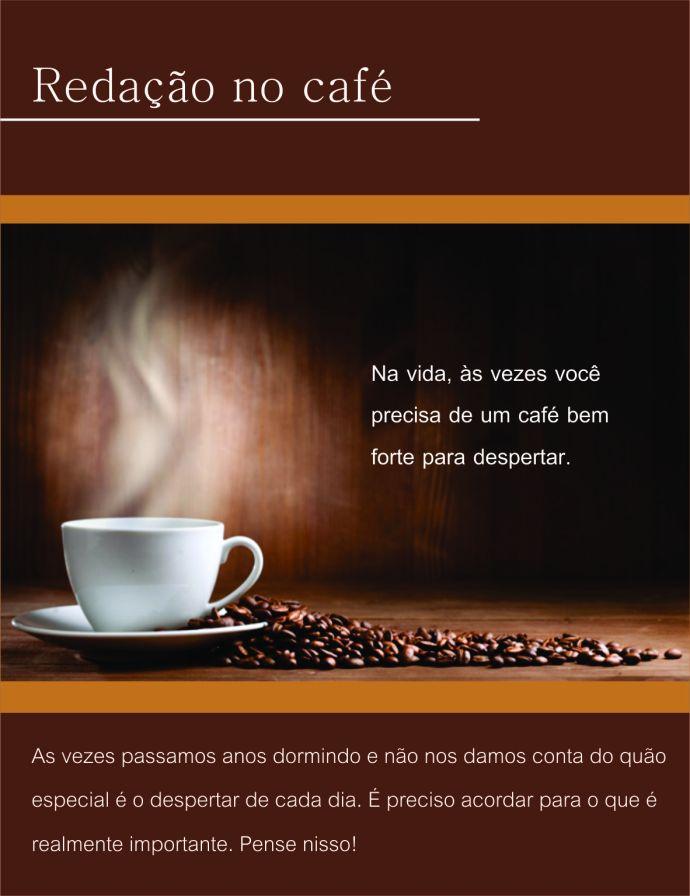 E-mail MKT - Redação no café